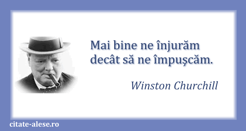 Winston Churchill, citate 02