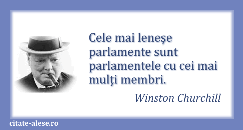 Winston Churchill, citate 06