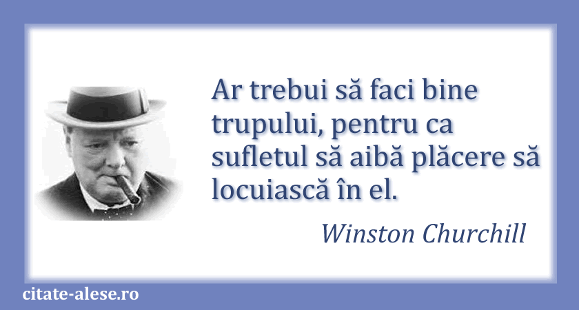 Winston Churchill, citate 07