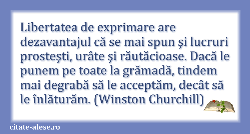 Winston Churchill, citate 10